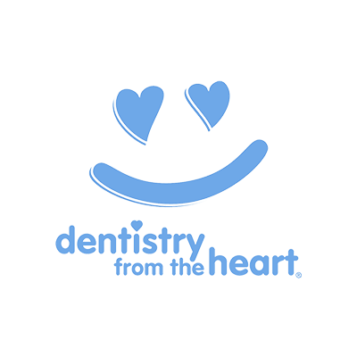 Logo for Dentistry from the Heart, one of the charitable organization our dentist in Orlando gives back to.