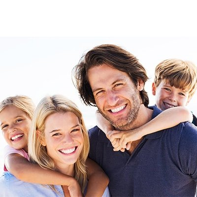 Happy Family Smiling at East Orlando Dental
