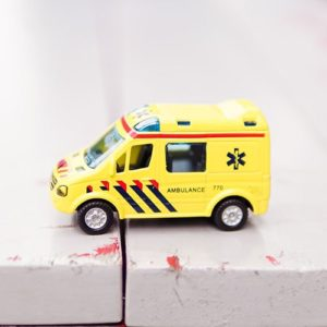 A Toy Ambulance