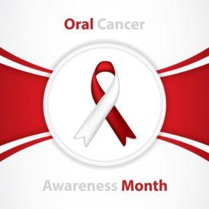 Oral Cancer awareness ribbon